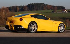 Ferrari, автомобили, F12 Berlinetta, Novitec Rosso