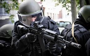 шлем, военный, спецназ, тюнинг, оружие, ак74