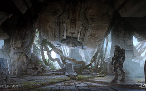 Master Chief, Halo Master Chief Collection, concept art, Halo, video games, Xbox One