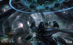 concept art, Halo Master Chief Collection, video games, Halo, Xbox One, Halo 5