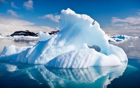 Антарктида, красота, айсберг, красивые