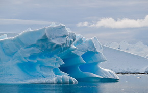 Антарктида, айсберг, красота, красивые