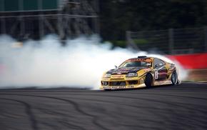 racing, car, Toyota Supra, drift