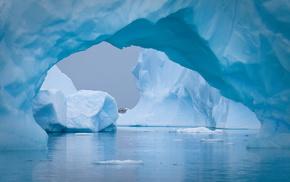 айсберг, красота, красивые, Антарктида