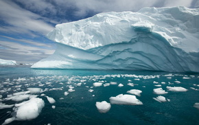 айсберг, Антарктида, красота, природа