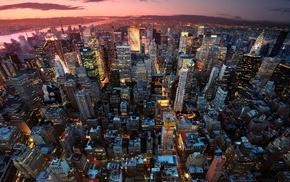 США, город, городской пейзаж, Нью-Йорк