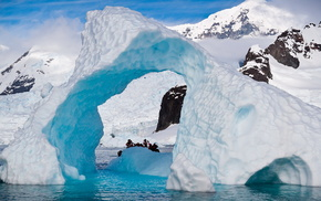 айсберг, красота, Антарктида, природа