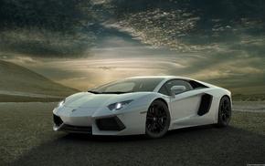 Lamborghini, Lamborghini Aventador, car, sports car