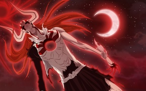 Vasto Lorde, Bleach, crescent moon, Hollow, moon, Kurosaki Ichigo