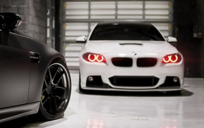 garage, supercar, macro, BMW, m3