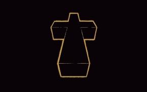 musicians, Justice, minimalism, cross