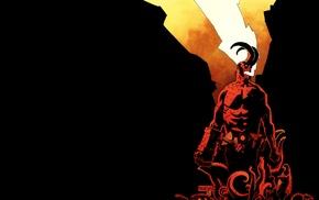 comics, Hellboy