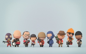 minimalism, video games, Team Fortress 2