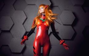 Neon Genesis Evangelion, рыжие, латекс, Asuka Langley Soryu