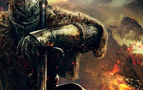 DeviantArt, warrior, digital art, artwork, Dark Souls, Dark Souls II