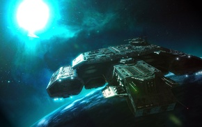 Stargate, Daedalus, class, space