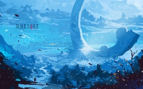 digital art, video games, Anton Fadeev, Duelyst, Digital 2D, concept art