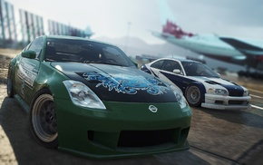 Nissan, Need for Speed Most Wanted 2012 video game, BMW, Nissan 350Z, video games, BMW M3 GTR