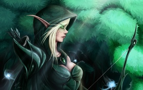 elves, fantasy art