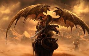 фантастическое исскуство, дракон