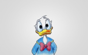 Walt Disney, animals, Donald Duck, artwork