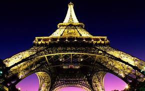 город, городской пейзаж, Франция, архитектура, огни
