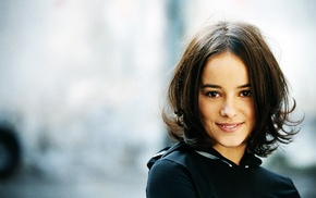 smiling, eyes, girl, Alizee, singer, face