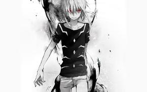 To Aru Kagaku no Railgun, аниме, красные галаза
