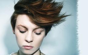 La Roux, redhead, portrait, Elly Jackson