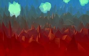 произведение искусства, облака, цифровое искусство, пейзаж, абстрактные