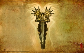 video games, Tyrael, Diablo III, Diablo