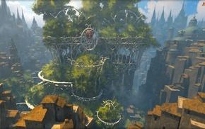 town, Selesnya, Magic The Gathering, magic