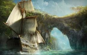 произведение искусства, лодка