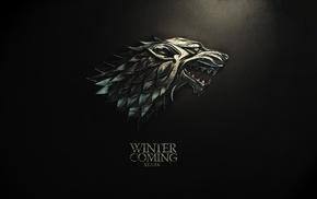 sigils, Game of Thrones, House Stark