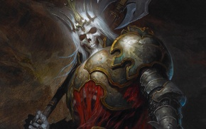 Skelaton king, heroes of the storm, King Leoric, Diablo III