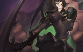 anime girls, Black Rock Shooter, Dead Master