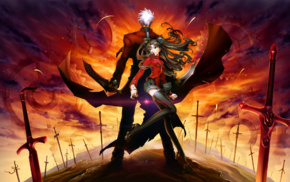 FateStay Night, Archer FateStay Night, Fate Series, Tohsaka Rin