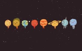 планета, юмор, минимализм