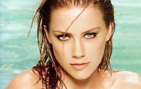 bare shoulders, Amber Heard