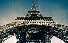 Eiffel Tower, Paris, sky