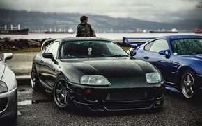 sports car, drift, Toyota, Speedhunters, street, Supra