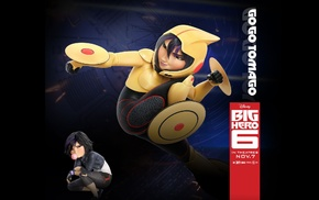 Disney, Walt Disney, Go Go Tomago, animated movies, Big Hero 6, movies