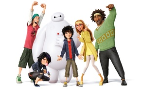 Baymax Big Hero 6, Walt Disney, animated movies, Go Go Tomago, movies, Big Hero 6