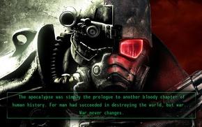 war, Fallout 3, Fallout New Vegas, vault tec, Fallout