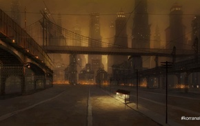 Republic City, The Legend of Korra, bridge