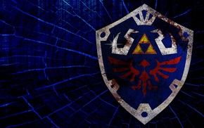 hylian crest, The Legend of Zelda, video games