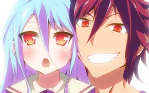 Sora No Game No Life, anime, No Game No Life, Shiro No Game No Life, anime girls