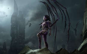 Sarah Kerrigan, Queen of Blades, StarCraft II  Heart Of The Swarm