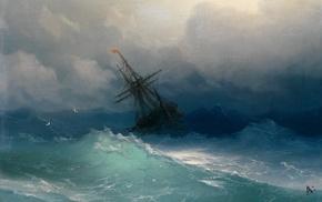Ivan Konstantinovich Aivazovsky, storm