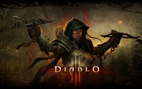 crossbow, Demon Hunter, Blizzard Entertainment, Diablo III
